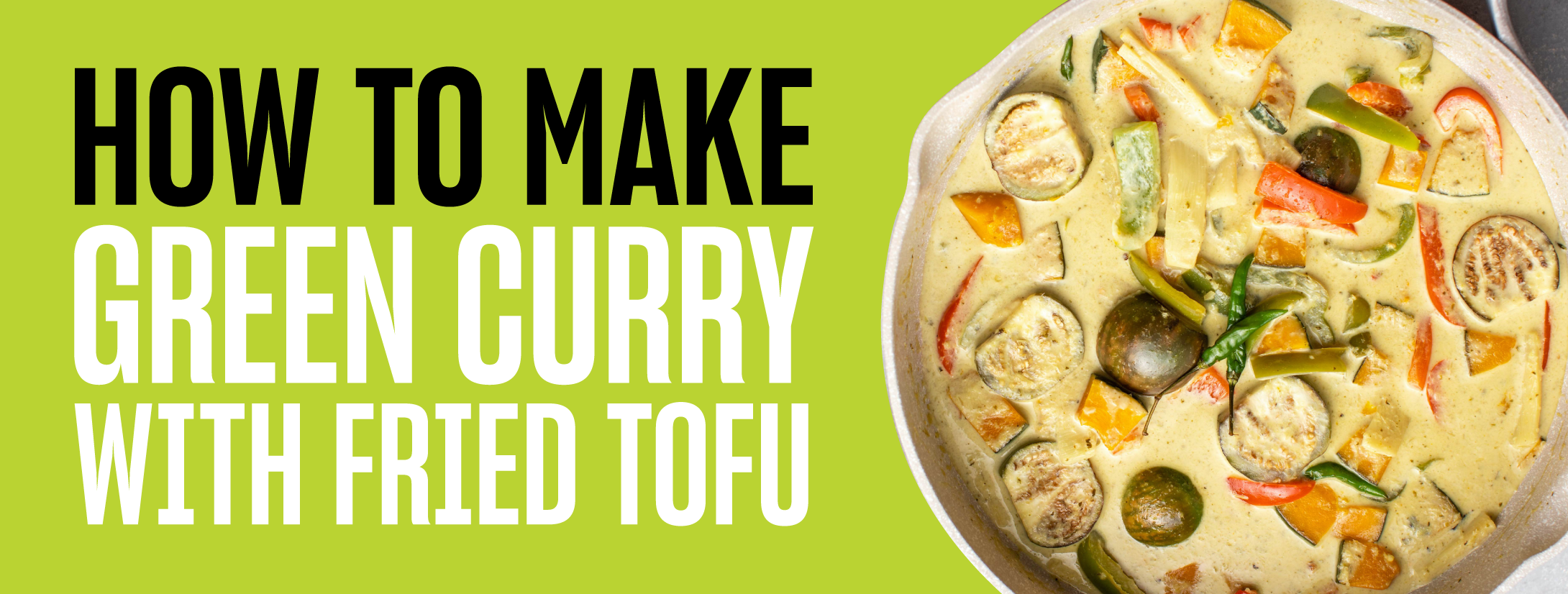 Green curry banner