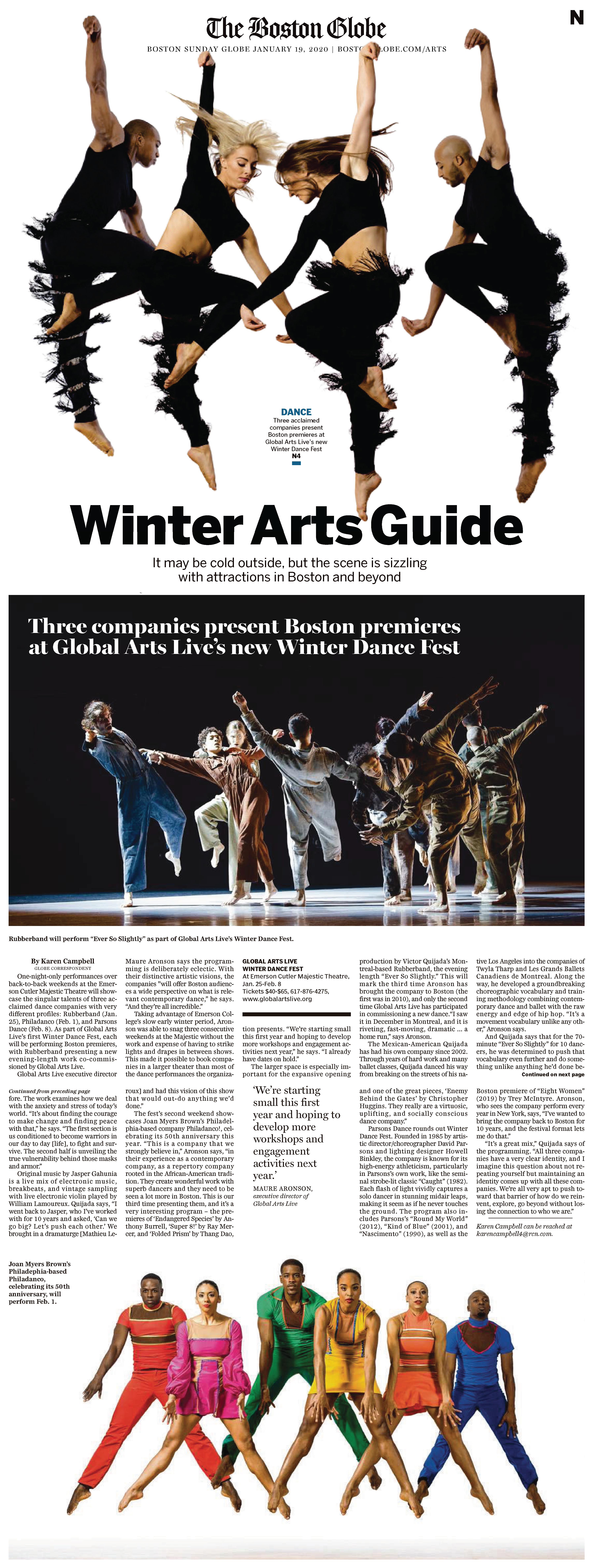Boston Globe Winter Arts Preview